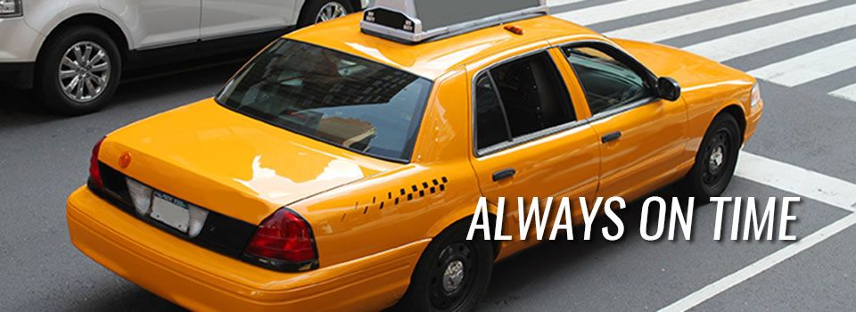 Always On Time | taxi cab